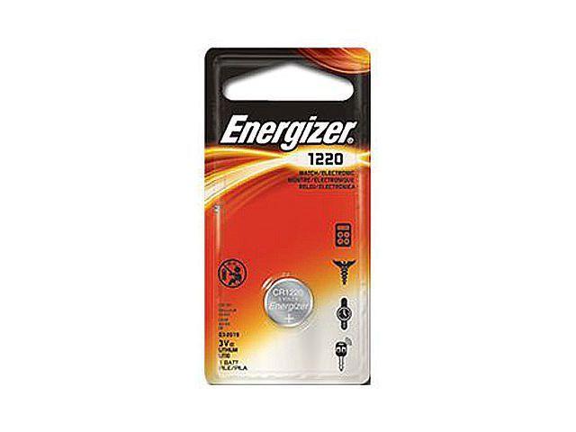 Energizer Energizer CR1220-batterij. lithiumknoopcel. 3.0 V. 40 mAh capaciteit