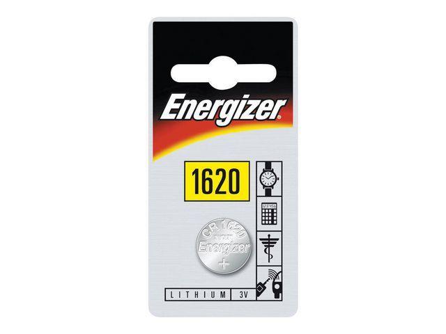 Energizer Energizer 1620 batterij. lithium. 3 V (blister 1 stuk)