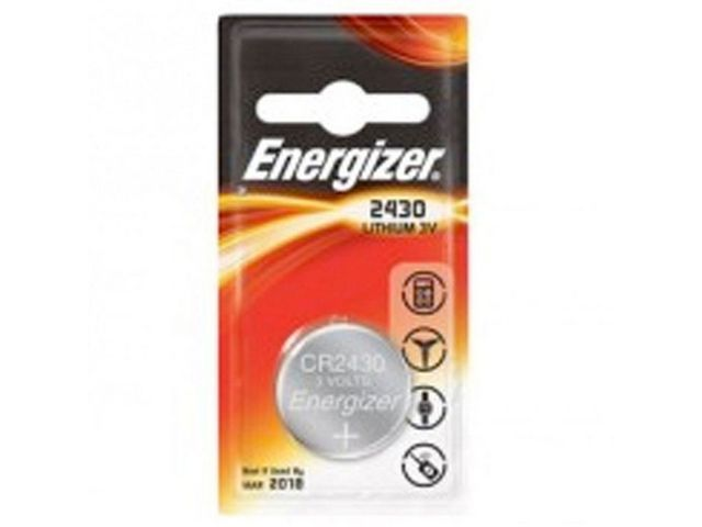 Energizer Batterij Energizer Knoopcel CR2430/pak 2