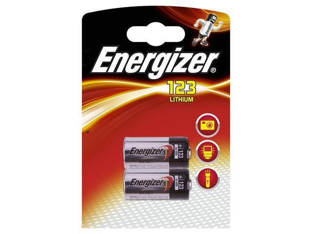 Energizer Batterij Energizer E2 CR123/BS 2