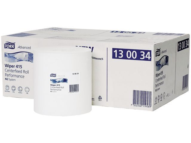 Tork Centerfeedrol Tork Adv 1l 415 wit/6x165m
