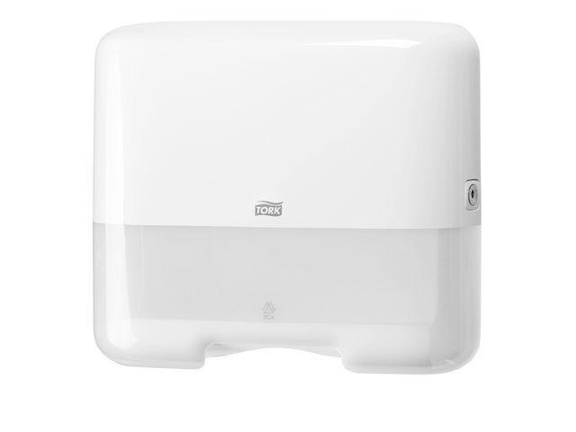 Tork Handdoekdispenser Tork Mini ZZ-fold wit