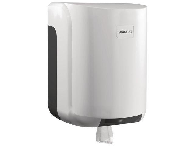 Staples Handdoekdispenser BRPR centerfeed wit