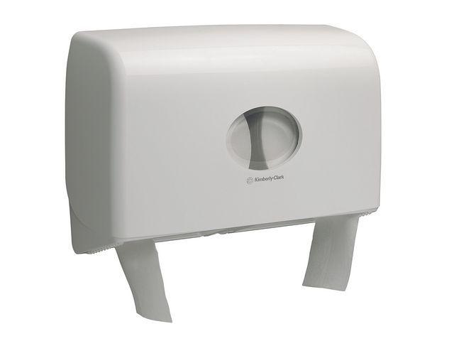 Aquarius (Kimberly-Clark) Dispenser Toiletpapier Jumbo duo mini wt