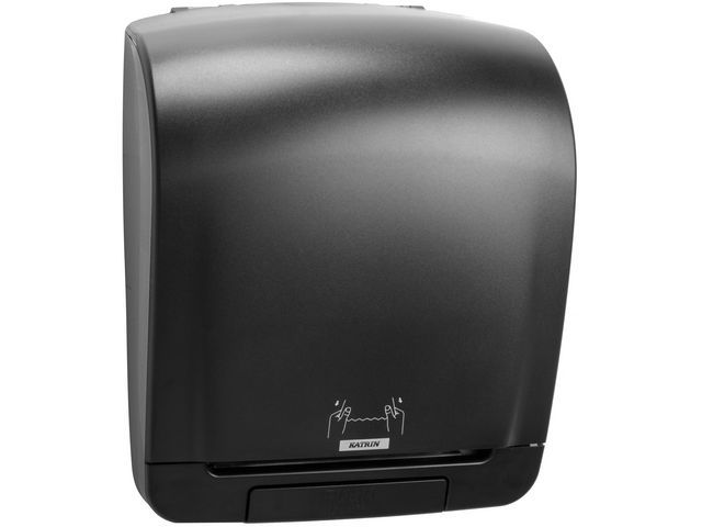 KATRIN Systeem handdoekdispenser K Incl zwart