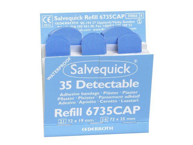Salvequick Pleister Salvequick detecteerbaar/ds6x35