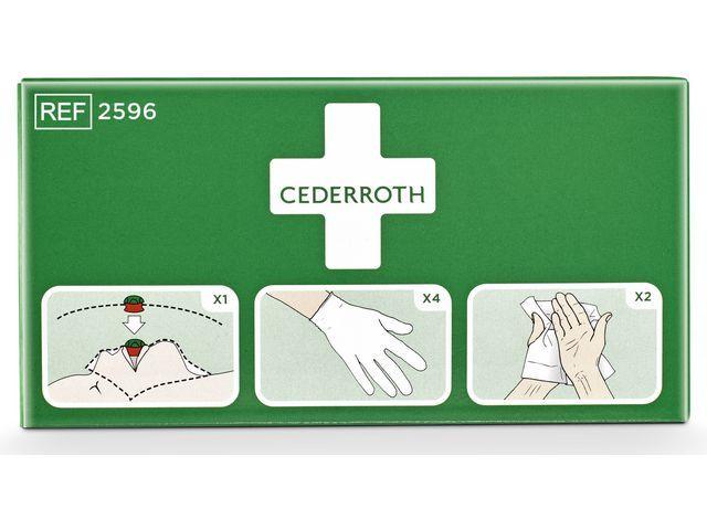 Cederroth Protectiepakket Cederroth groen
