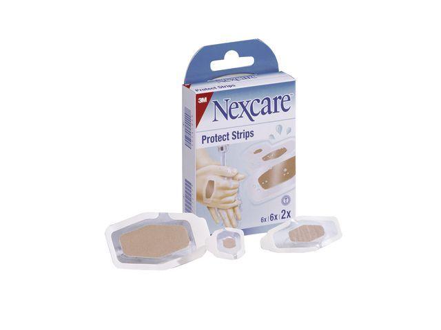 Nexcare Pleister Nexcare protect huidkleur/pk 14