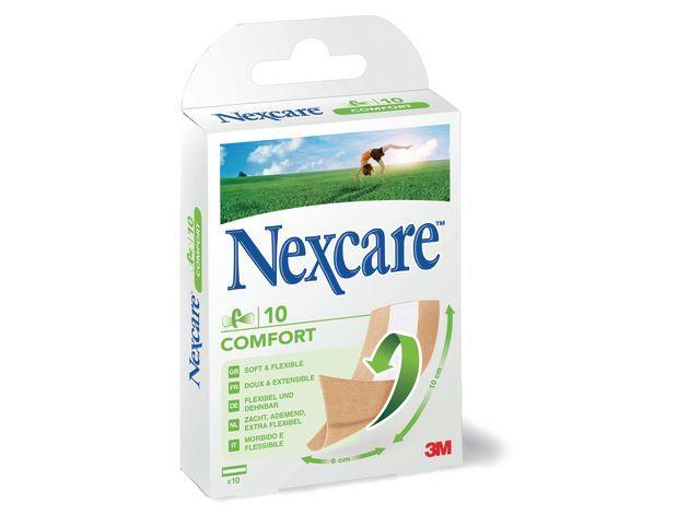 Nexcare Pleister Nexcare comfortstrips/10x6cm