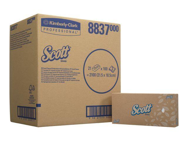 Scott® Tissue facial Scott 2lgs/ds 21x100