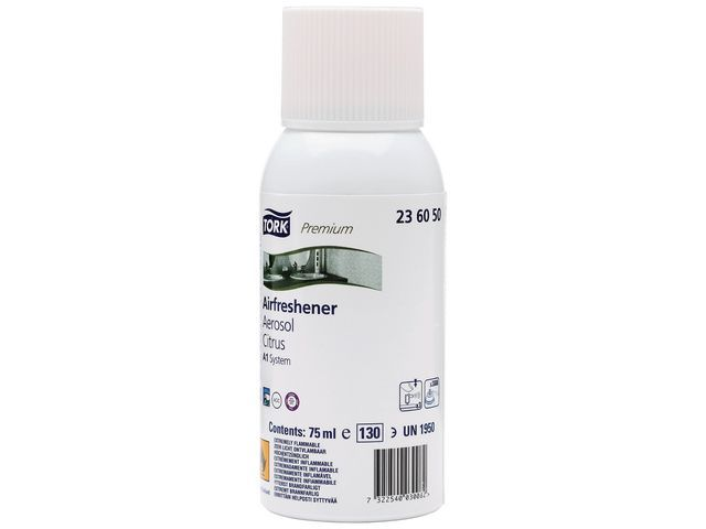 Tork Luchtverfrisser Tork Prem citrus/bus75ml