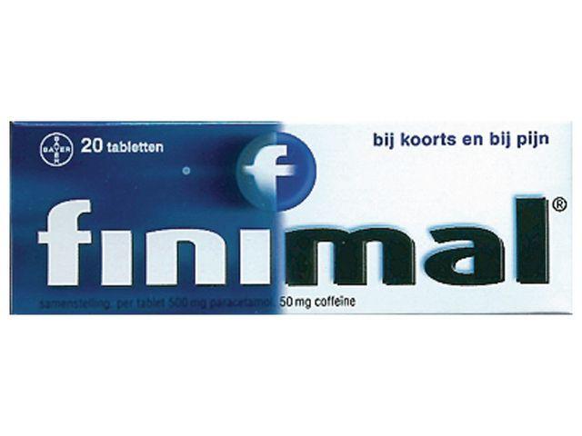 Pijnstillers Finimal tabletten/pk 20st