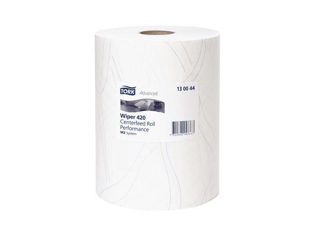 Tork Multirol Tork Adv Wiper 420 2l wit ds/6