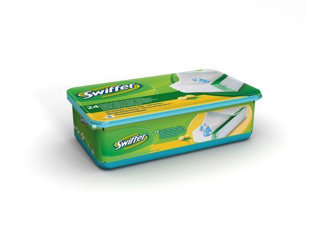 Swiffer Vloerwisdoek Swiffer vloer nat/pak 24