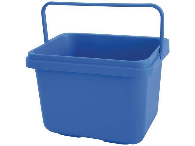 Taski Emmer 7 liter rechthoek blauw