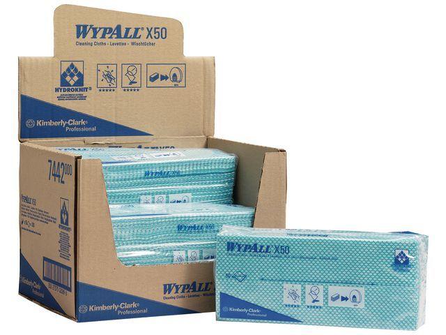 Wypall* Werkdoek Wypall groen/pk 50