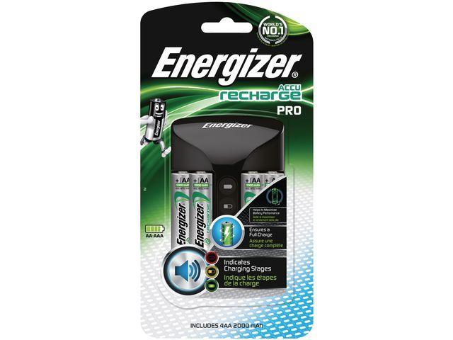 Energizer Energizer Pro Charger Incl. 4 AA 2000 mAh batterijen