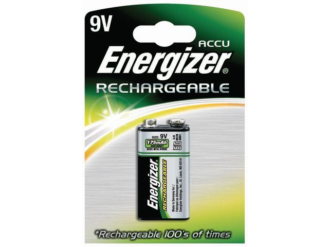 Energizer Batterij Energizer oplaad NiMH 9V