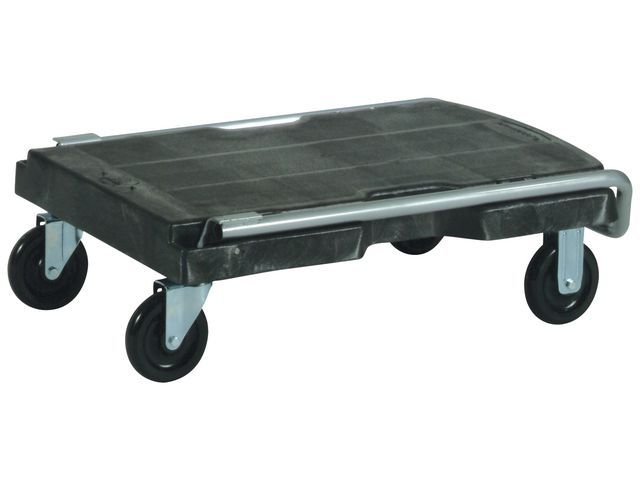 Rubbermaid Commercial Products Rubbermaid Mobile trolley Triple zwart