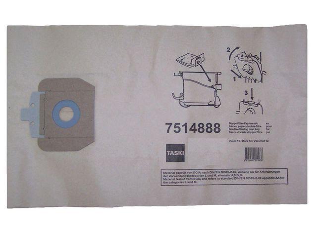 Taski Stofzuigerzak papier Vento 15/pk 10