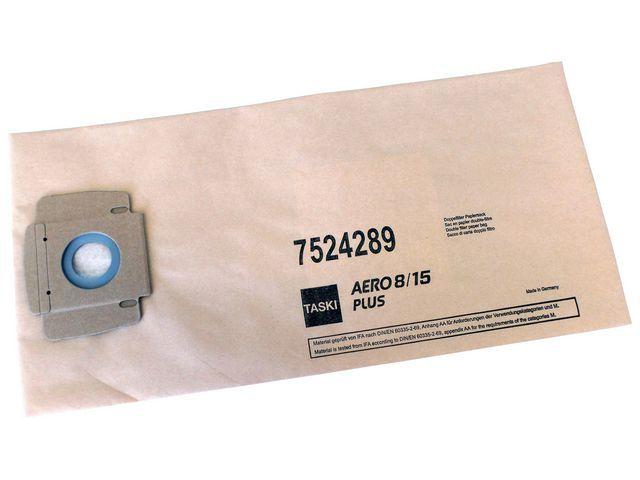 Taski Stofzuigerzak Taski aero8/15 papier/pk10
