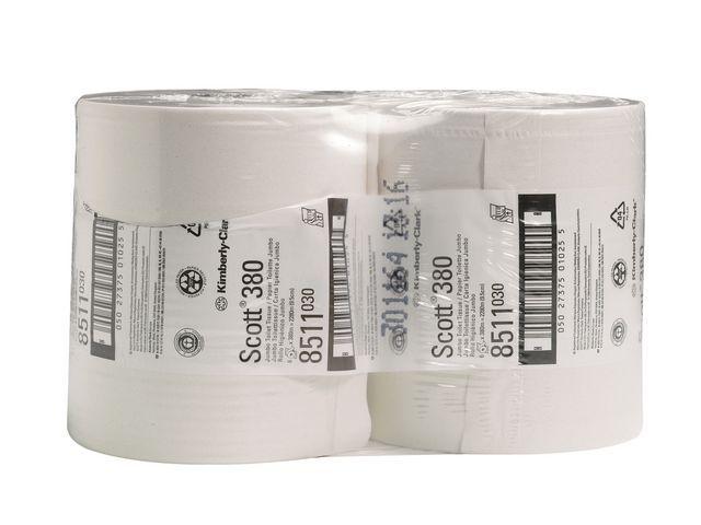 Scott® Toilet paper Scott 2lgs wit/pk 6x380m