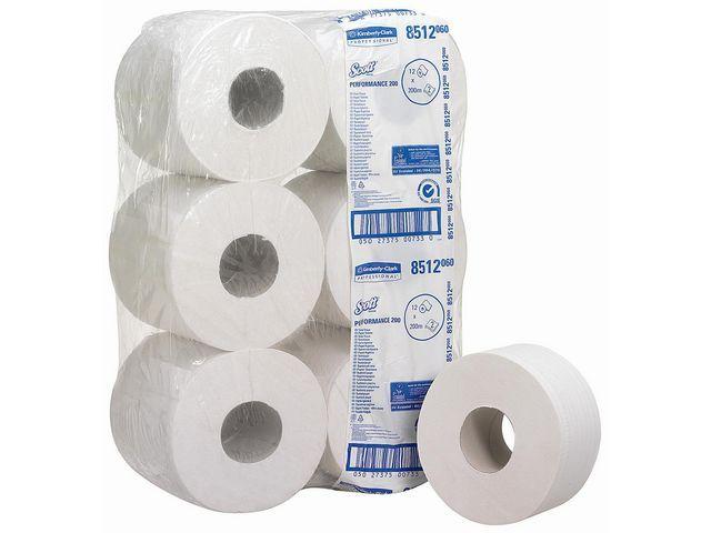 Scott® Toiletpapier Scott jumbo 200m/pk12rl