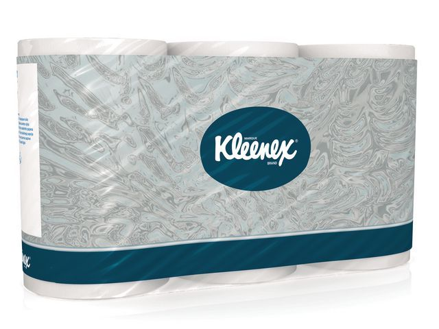 Kleenex® Toiletrollen Kleenex 3lgs wit/pk6x350v