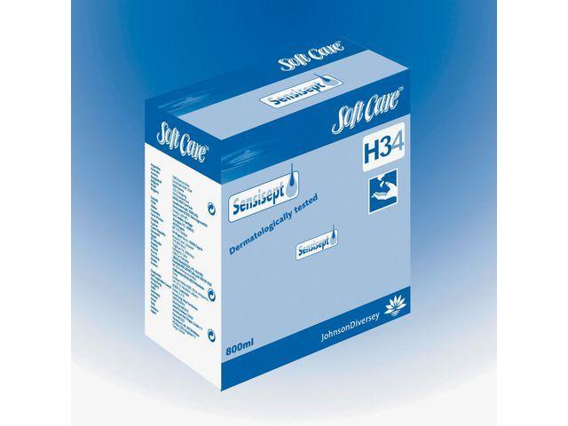 Diversey Handzeep Softcare Sensisept/ds 6x800ml