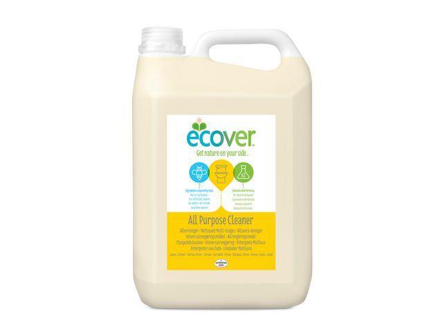 Ecover Ecover Allesreiniger citroen vloeibaar concentraat geel 5 l (fles 5 liter)