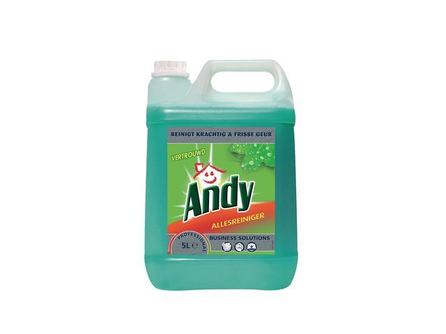 Andy Andy Allesreiniger grootverpakking Vertrouwd (fles 5 liter)