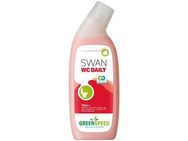 GREENSPEED Toiletreiniger Swan WC Daily 750ml/bx6