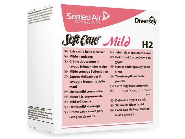 Diversey Handzeep Softcare mild/pk6x800ml