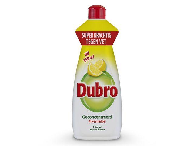 Dubro Dubro Afwasmiddel original extra citroen (pak 4 x 550 milliliter)