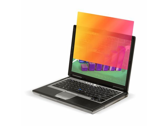 3M™ 3M™ Privacy filter Gold widescreen Laptop 14.1 inch wide. frameless