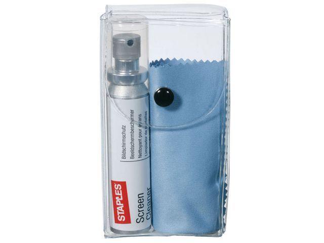 Staples Schermreiniger SPLS Premium spray+doekje