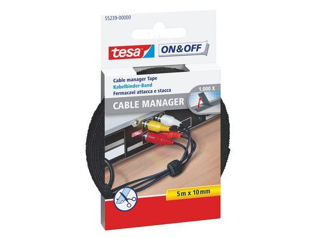 tesa® Kabelbinder tesa multi 5mx10mm zwart
