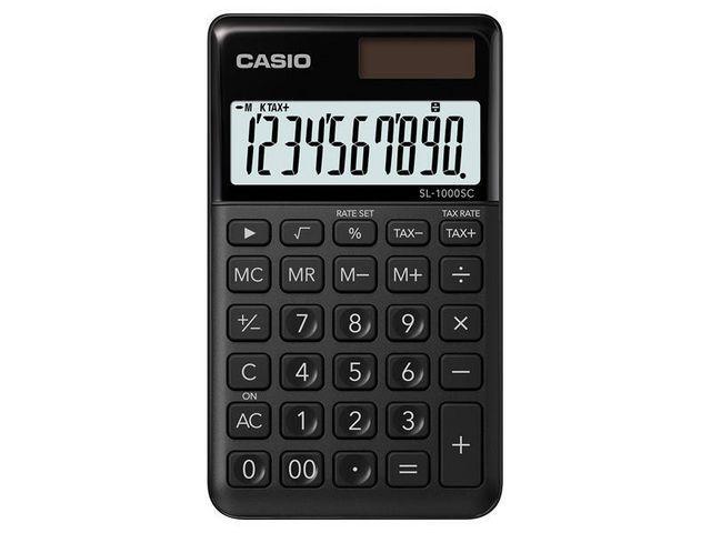 Casio Rekenmachine Casio SL-1000SC-BK