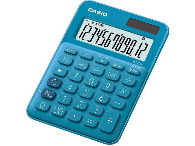 Casio Rekenmachine Casio MS-20UC-BU