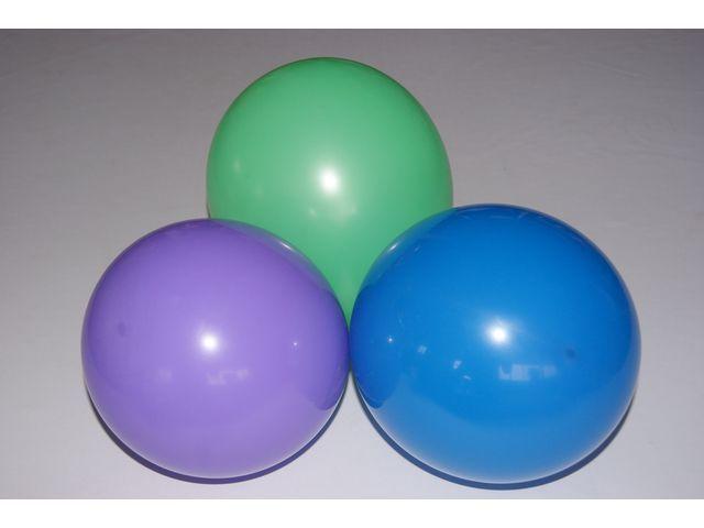 Ballon 28cm assorti kleur/pak 100