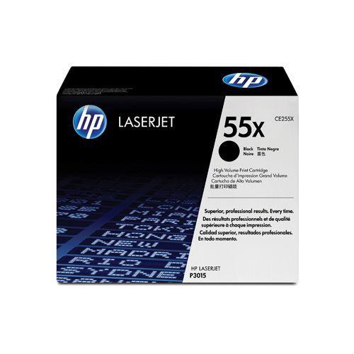 HP HP 55X (CE255X) toner black 12500 pages (original)