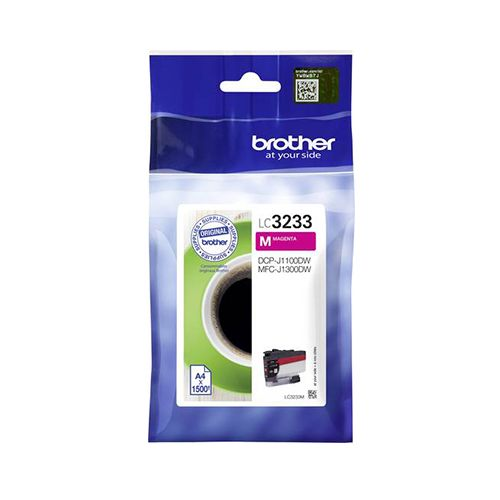Brother Brother LC-3233M ink magenta 1500 pages (original)