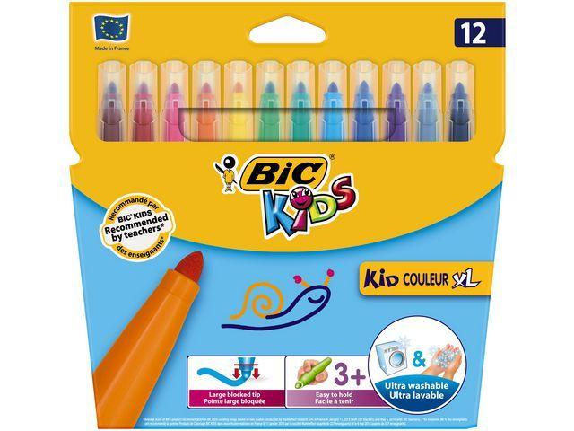 BiC Viltstift Bic Kids couleur XL ass/pk12