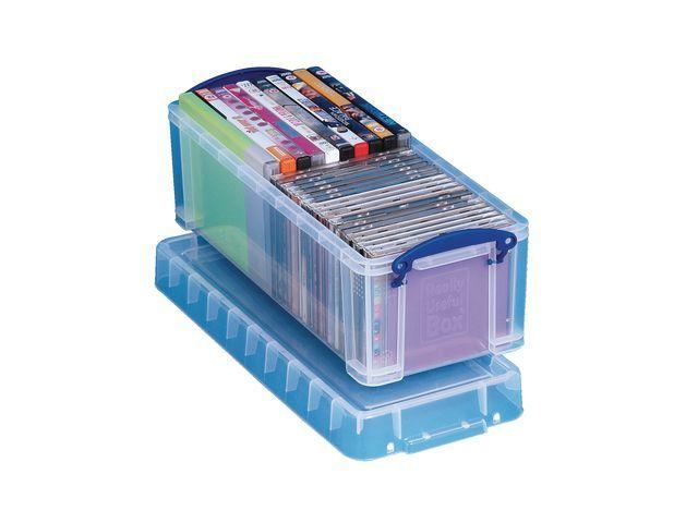 Really Useful Box Opbergbox Rub transparant 6.5L
