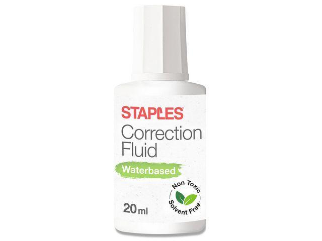 Staples Correctievloeistof SPLS eco 20 ml