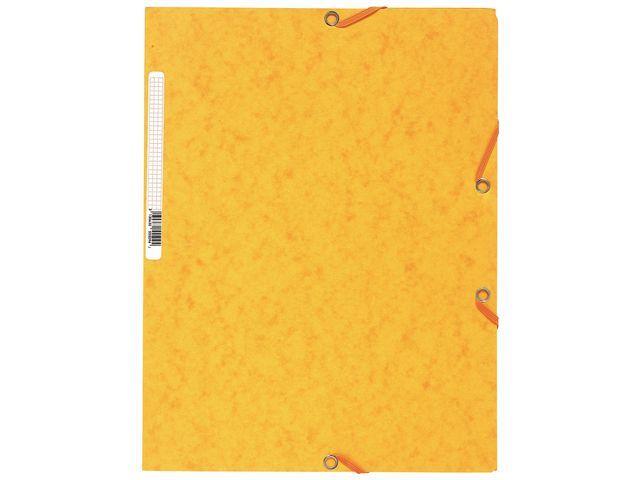 Exacompta Elastomap Exacompta 3-fl A4 400g geel
