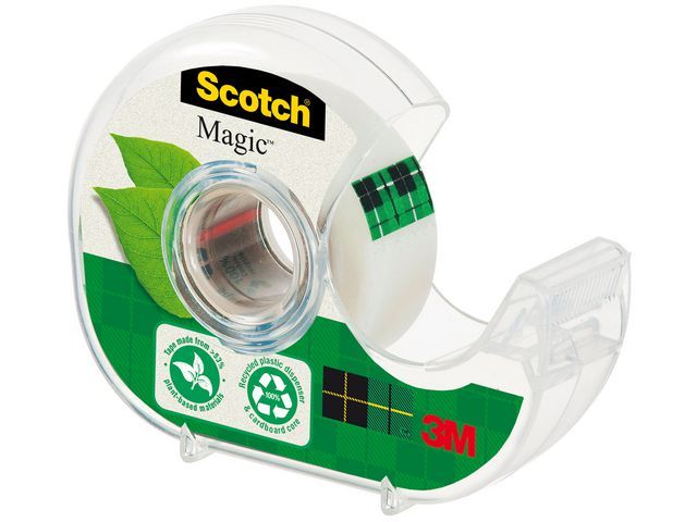 Scotch® Plakbanddispenser Scotch Magic (+tape)