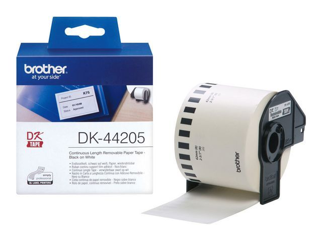 P-Touch Tape P-Touch DK-44205 62mm therm