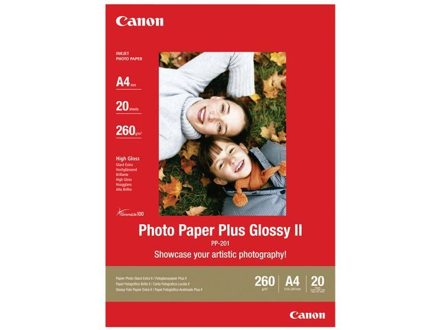Canon Papier Canon PP-201 I A4 /pak20
