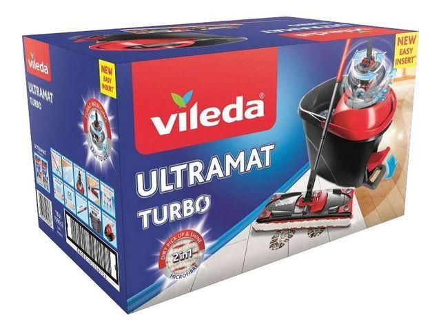 Vileda Emmer met wringer Vileda Turbo